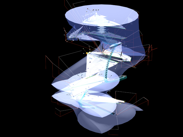 Maiko Muranaka, MArch II Studio Project: A TOUR OF WASHINGTON D.C., 2007 | Instructors: John Zissovici and Paul Soulellis